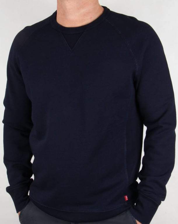 Levis Crew Neck Sweatshirt Indigo