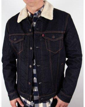 Levi's Levis Dark Denim Trucker Jacket