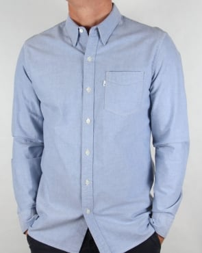 Levi's Levis Sunset One Pocket Shirt True Blue Oxford