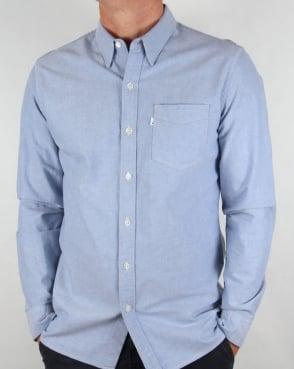 Levi's Levis Sunset One Pocket Shirt True Blue Oxford