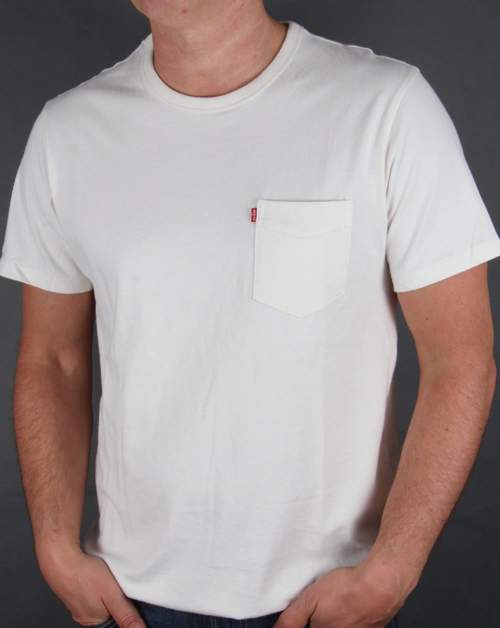 Levis Sunset Pocket T-shirt Whitesmoke