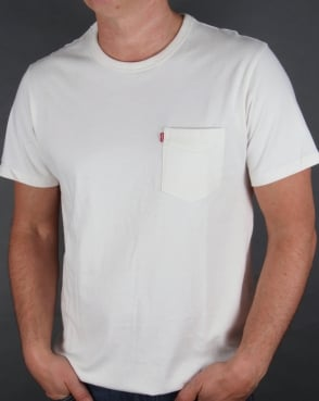 Levi's Levis Sunset Pocket T-shirt Whitesmoke