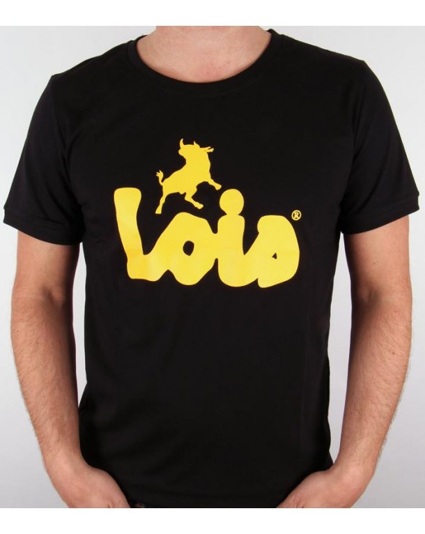 Lois Camiseta Logo T-shirt Black