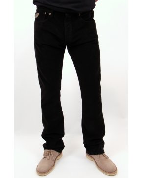 Lois Classic Needle Cords slight bootcut Black