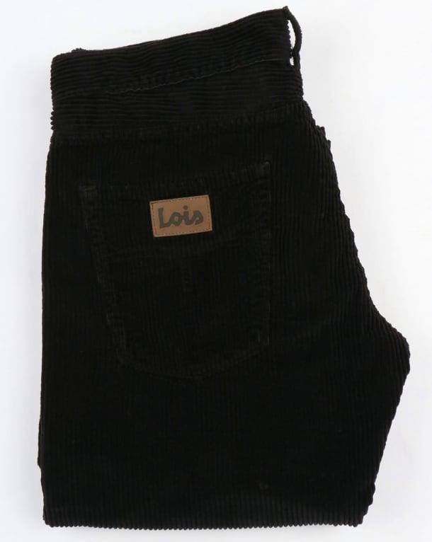 Lois Dallas Jumbo Cords Black