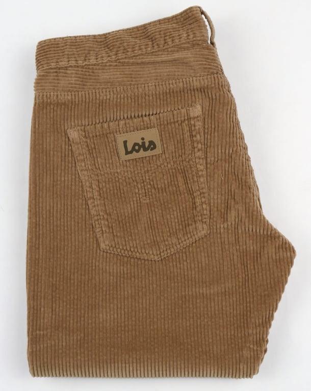 Lois Dallas Jumbo Cords Dark Sand