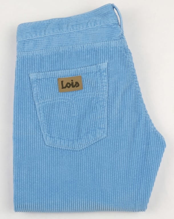 Lois Dallas Jumbo Cords Ice Blue