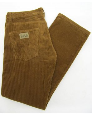 Lois Dallas Jumbo Cords Light Brown