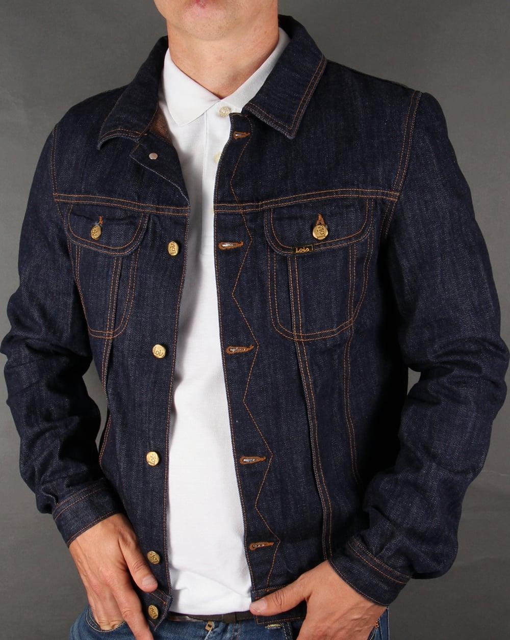 Lois Denim Jacket Dark Wash - lois denim jacket