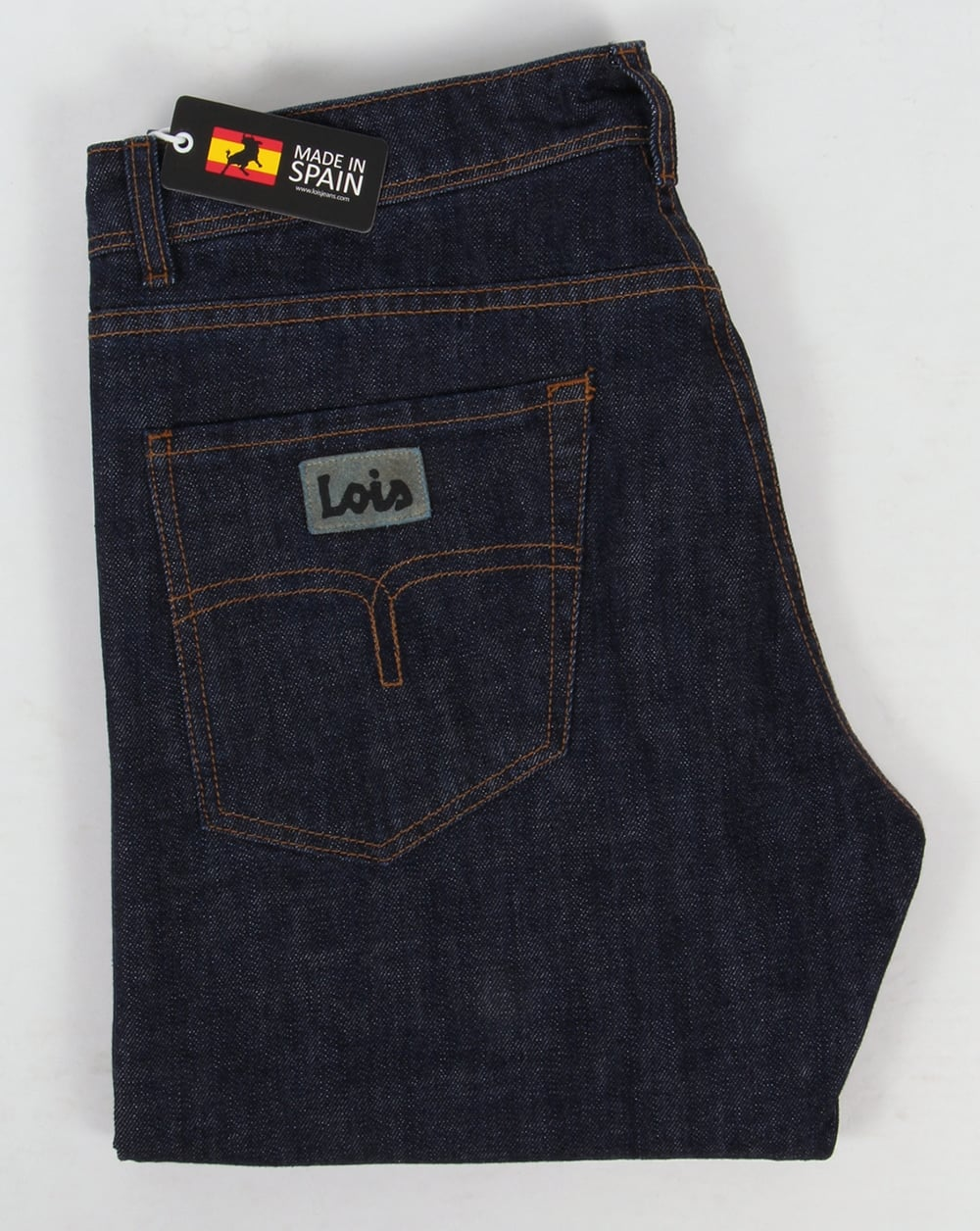 Lois Marvin Classic Straight Leg Jeans Dark Wash Mens