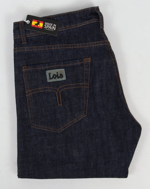 Lois Marvin Classic Straight Leg Jeans Dark Wash