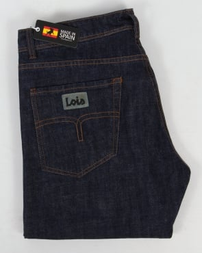 Lois Marvin Straight Leg Jeans Dark Wash