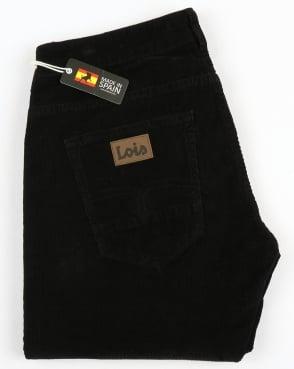 Lois Sierra Needle Cords Black