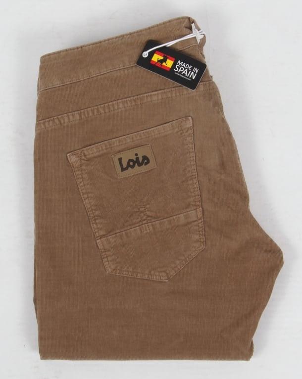 Lois Sierra Needle Cords Dark Sand