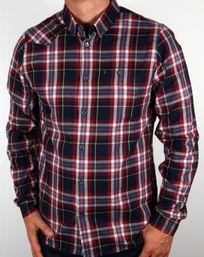 Luke Alldayeveryday Flannel Shirt Navy