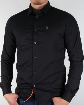 Luke Butchers Pencil Shirt Black