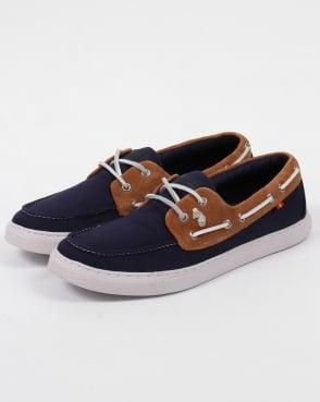 Luke Creek Boat Shoes Marina Navy