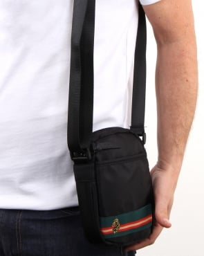 Luke Ennis Cross Body Bag Black