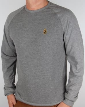 Luke Fresh Guy Sweatshirt Grey