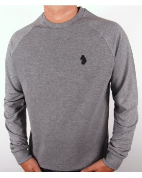 Luke Guys Sweatshirt Grey Marl