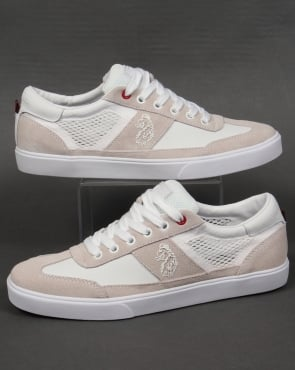 Luke Inaction Low Cut Trainers White
