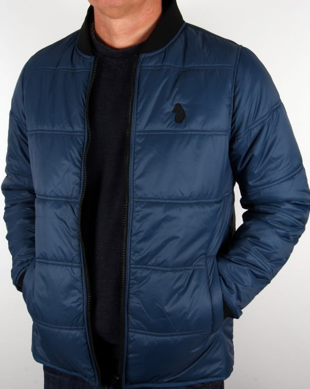 Luke Liner Quilted Jacket Navy