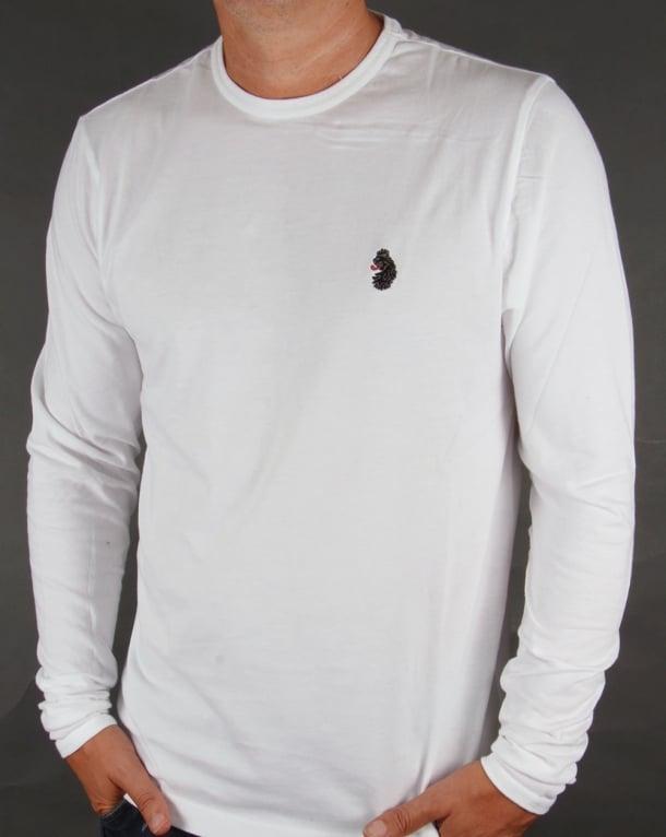 Luke Long Sleeve T-shirt White