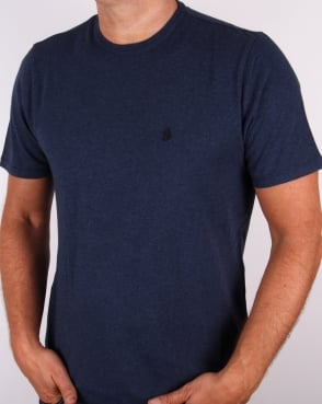 Luke New Charmer Slim Fit T-shirt Navy Marl