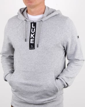 Luke Old Well Hoody Light Grey