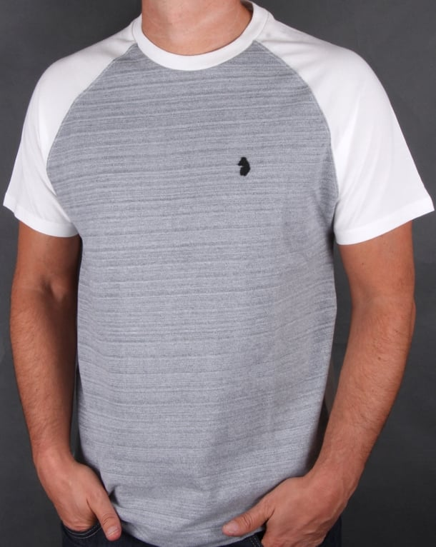 Luke Outofthisworld T-shirt Mid Marl Grey