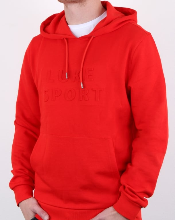 Luke Owens Hoody Fiery Red