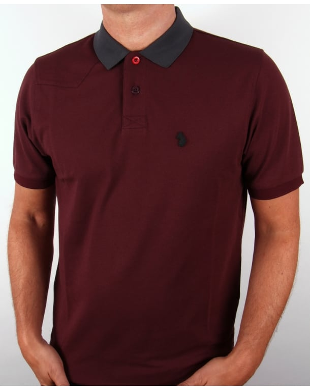 Luke plants polo shirt port luke 1977 polo shirt mens for Luke donald polo shirts