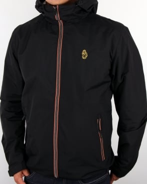 Luke Raleigh Hooded Jacket Black