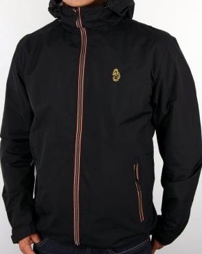 Luke Raleigh Hooded Jacket Black
