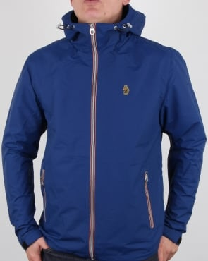 Luke Raleigh Hooded Jacket Blue