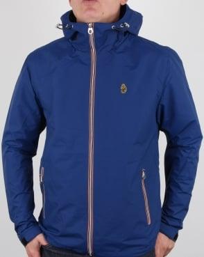 Luke Raleigh Hooded Jacket Blue