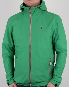 Luke Raleigh Hooded Jacket Green