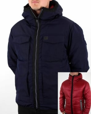 Luke Re-emersion Reversible Quilted Jacket Dark Navy
