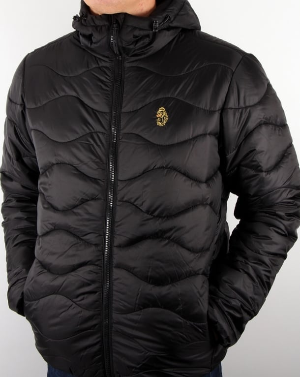 Luke Rubery Quilted Jacket Black