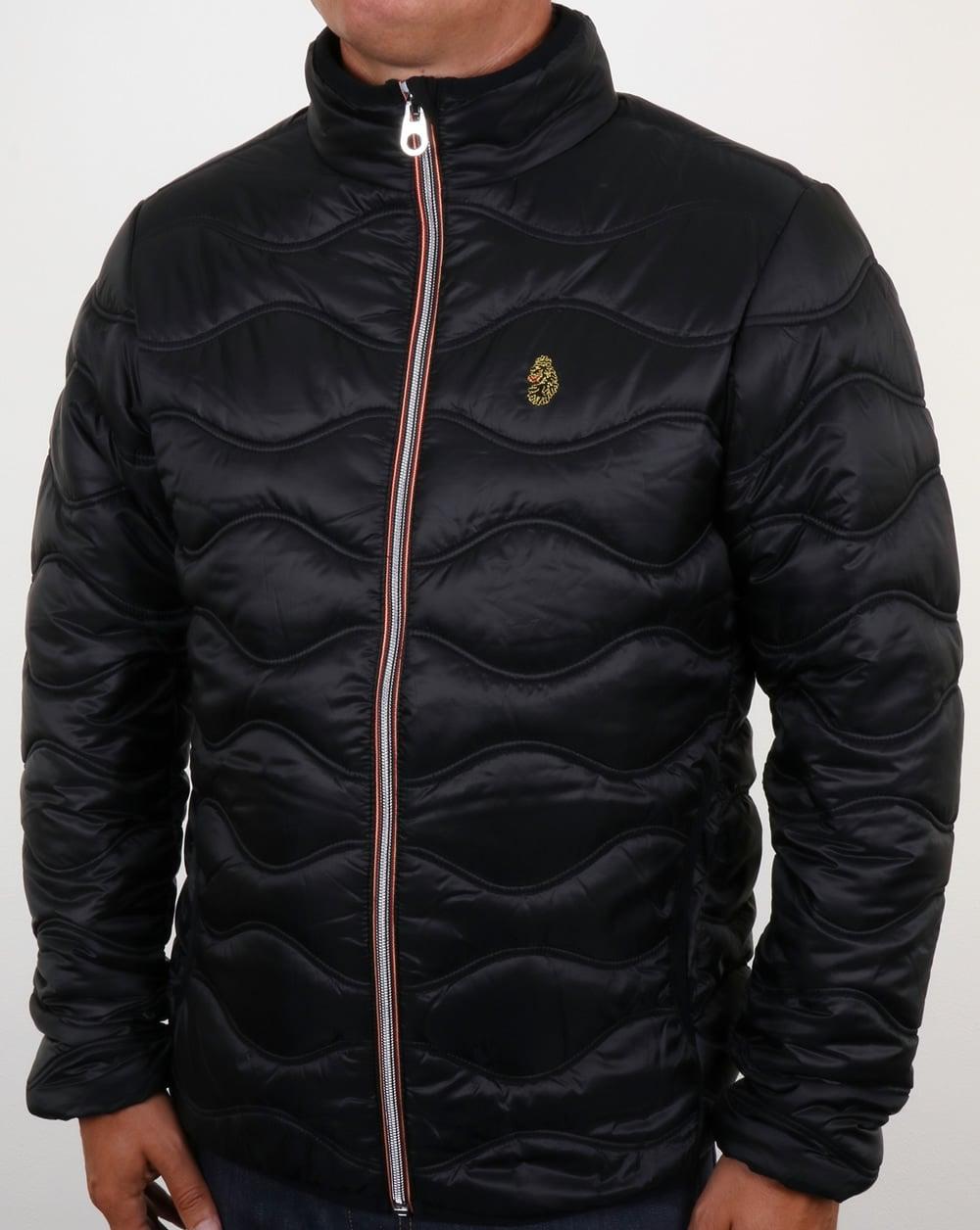 afdbf33bb9b3 Luke Ruby Quilted Jacket Black,padded,coat,mens