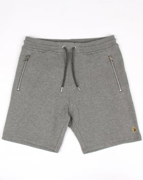 Luke Six A Otm Shorts Mid Grey Marl