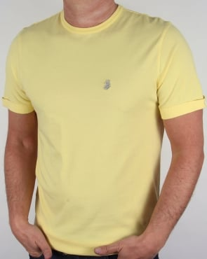 Luke Skinny Charmers T-shirt Powder Lemon