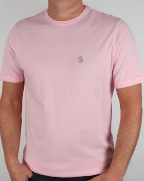 Luke Skinny Charmers T-shirt Powder Pink