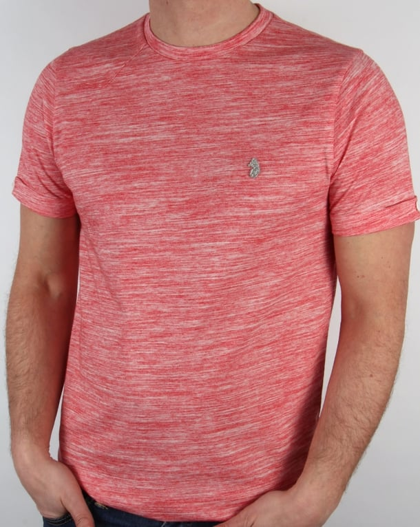 Luke Spacer T-shirt Marina Red