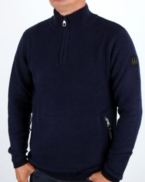 Luke Spout Overhead Funnel Neck Dark Navy