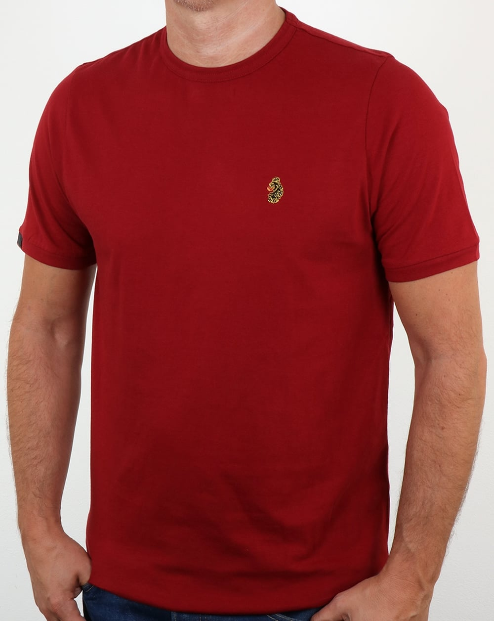 f006e91f Luke Traff T Shirt Cherry,tee,logo,crew neck,cotton,mens