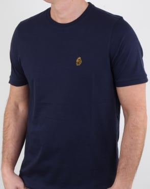 Luke Traff T Shirt Dark Navy