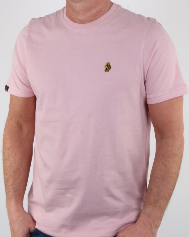 Luke Traff T Shirt Pink