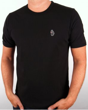 Luke Trouss S/s T-shirt Black