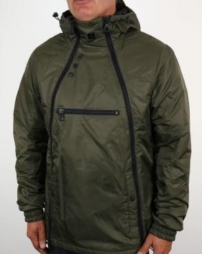 Luke Turvey Technical Jacket Khaki